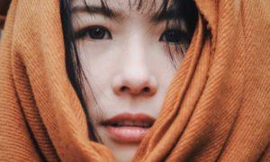 a girl face